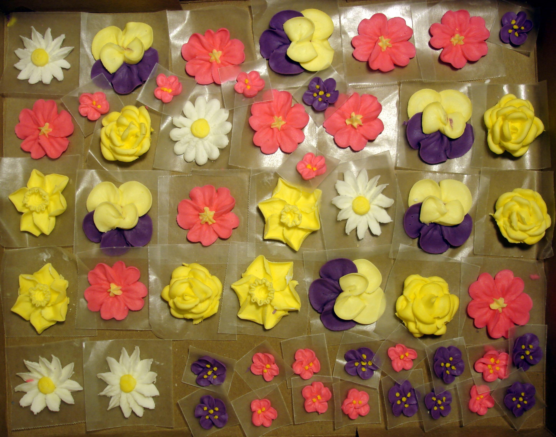 Flower Basket Cake   ms.Tapioca