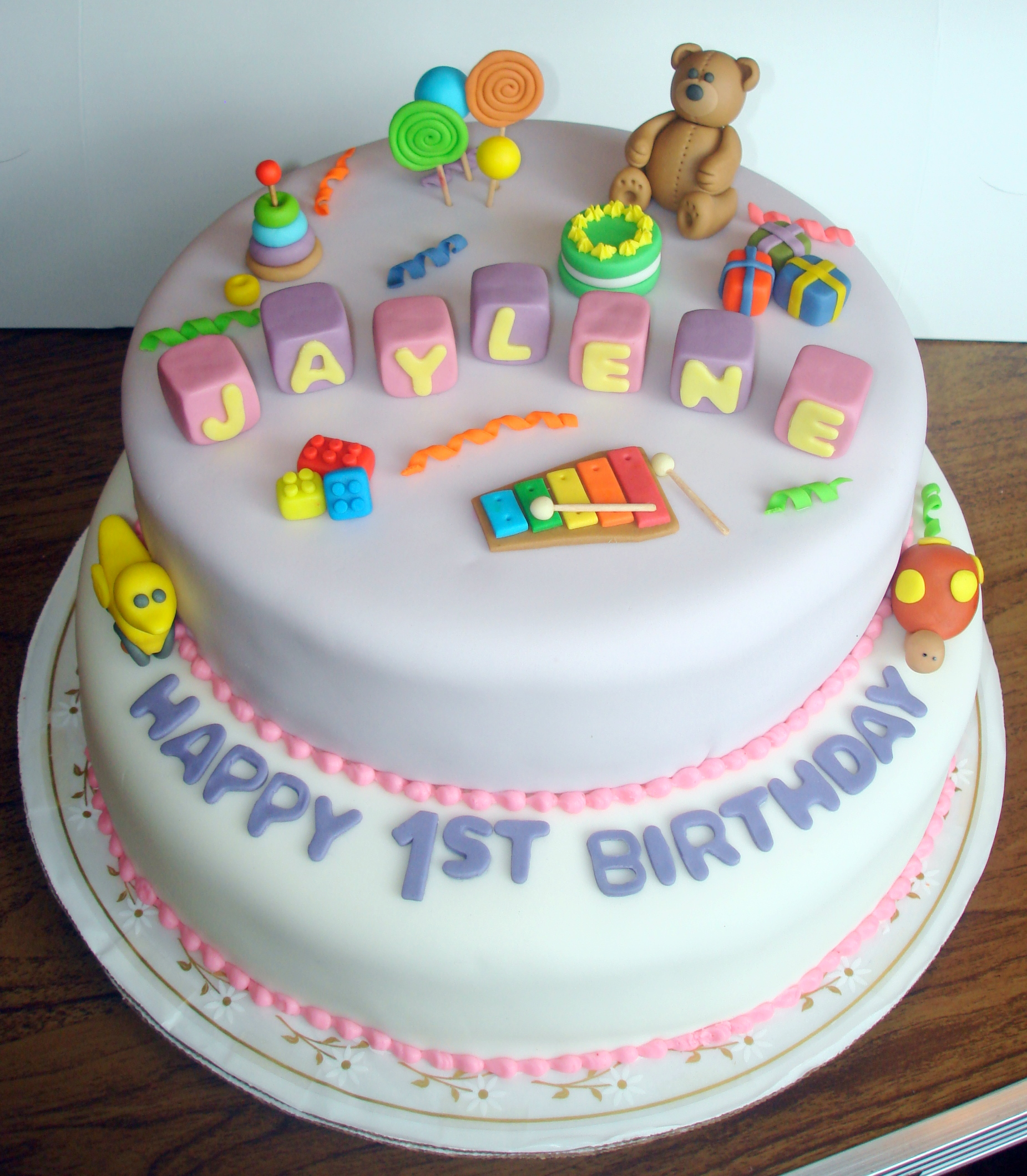 Birthday Cake Design For A Baby Boy : Baby s First Birthday Cake   ms.Tapioca