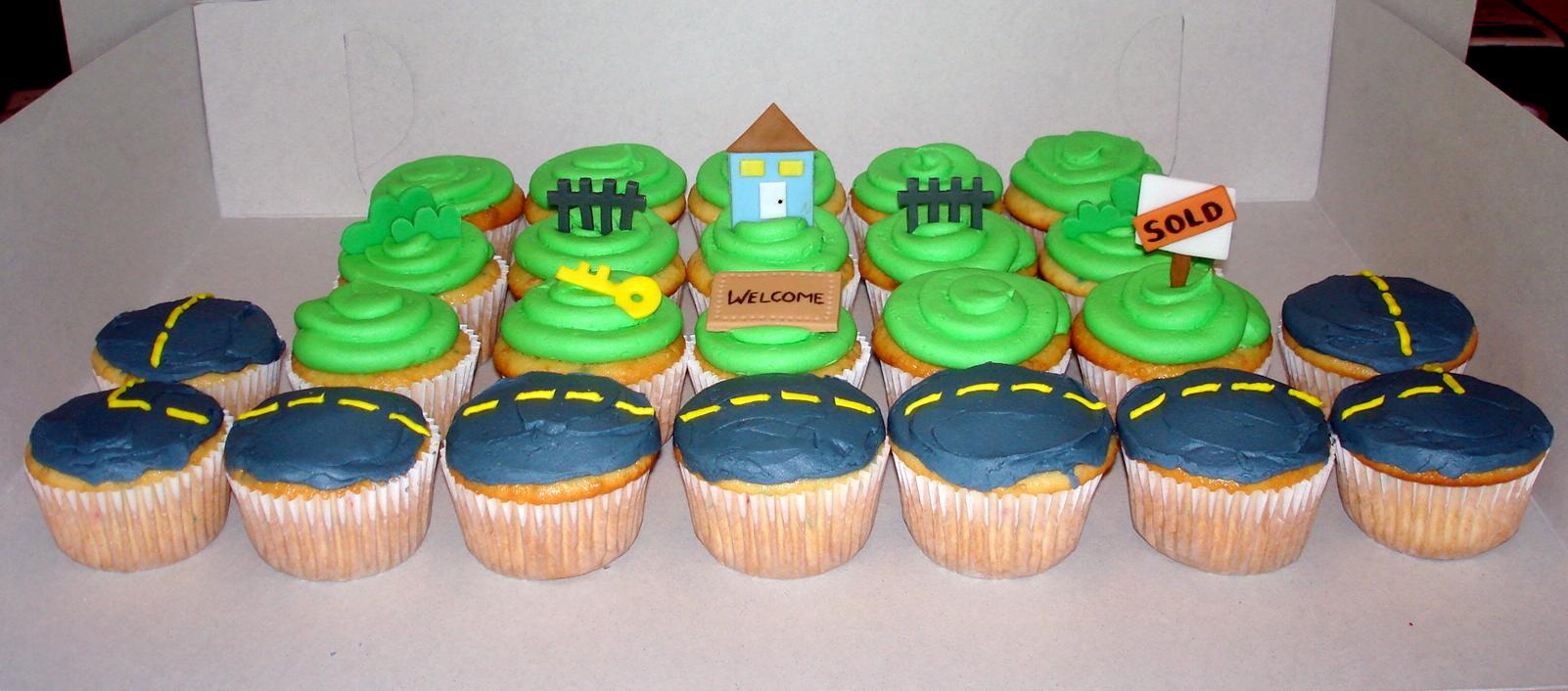 Housewarming Cupcakes – ms.Tapioca