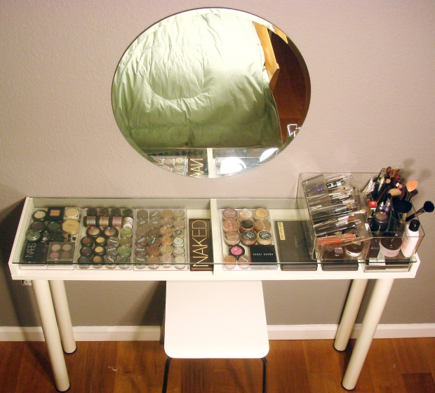 Diy Ikea Makeup Vanity Mstapioca