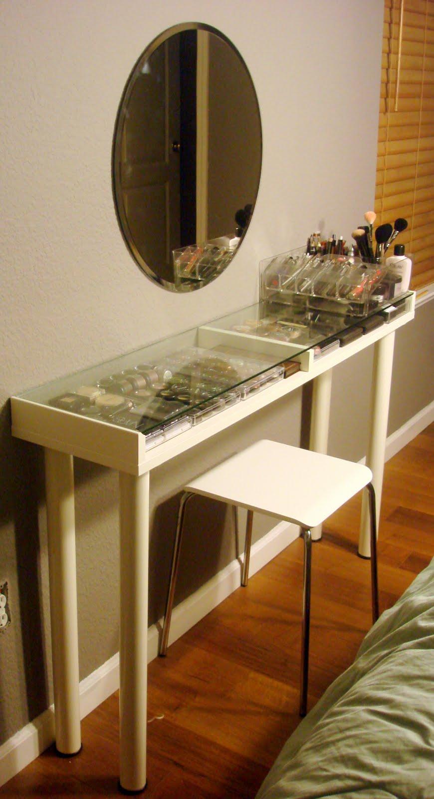 Ikea Makeup Vanity Ms Tapioca
