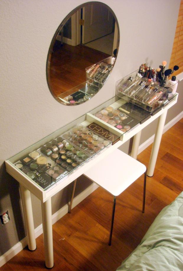 Diy Ikea Makeup Vanity Ms Tapioca