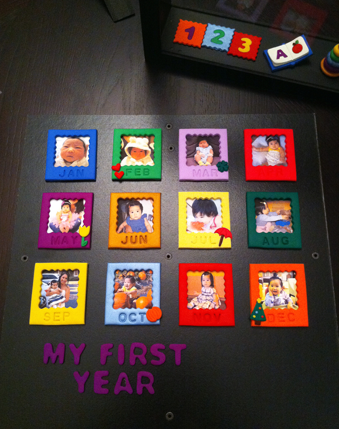 "My First Year"" Shadow Box: Malia – ms.Tapioca"