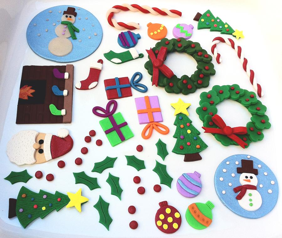 Polymer Clay Christmas Cards – ms.Tapioca